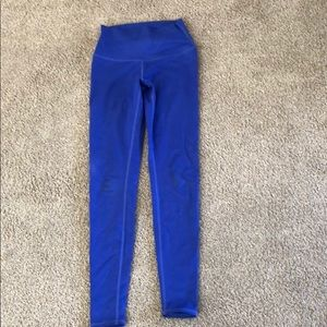 Alo Yoga Blue Leggings NEW